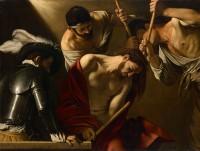 Caravaggio - 'Tornekroningen' (1607)