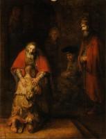 Rembrandt van Rijn 'Den fortabte søns hjemkomst' (1661-69)