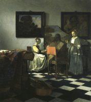 Johannes Vermeer 'Koncerten' (o. 1664)