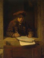 Samuel van Hoogstraten: Selvportræt (1647-49)